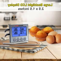 ThermoPro TP17 Dual Probe Digital Cooking Meat Thermometer L