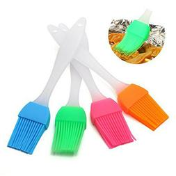 4/12/20PCS Oil Brush Silicone Baking Pastry Cream For BBQ B