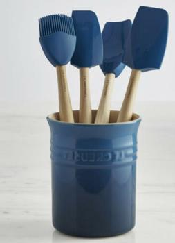 Le Creuset Utensil Set Blue 5 Pieces