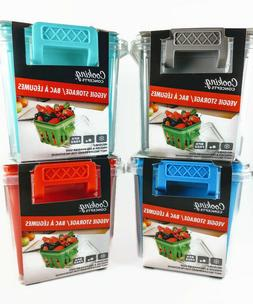 Vegetable And Fruit Storage Containers ~ 4  Colors