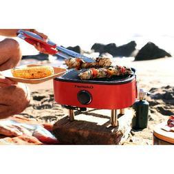 Cuisinart Venture Portable Gas Grill Porcelain Enameled Cast