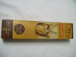 Vintage 1950's Ohio Double Duty Cooking Thermometer #6980 Ne