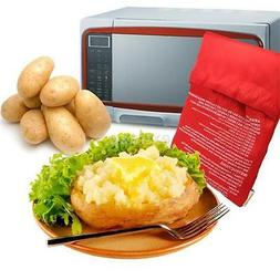 Washable Cooker Bag Potato Baked Microwave Cooking Quick Kit