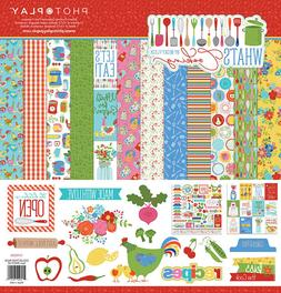 Photo Play What's Cooking 12x12 Collection Pack Cookbook rec