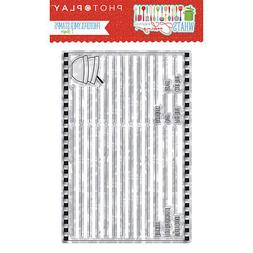 Photo Play What's Cooking Recipe Card Photopolymer Stamp Coo