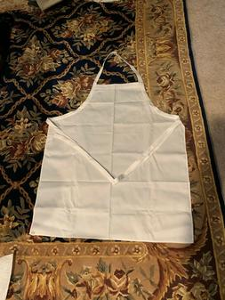 White  Cloth Apron  Cooking / Kitchen / BBQ  Adult