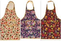 Women Apron Waterproof w/ Pockets Kitchen Restaurant Chef Co
