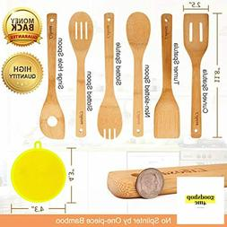 Wooden Cooking Set ,6 Pieces, Kitchen Tools, For pots and pa
