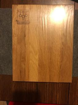 Vermillion Woodenware Cooking Club of America Life Member Wo