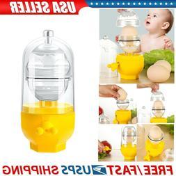 Yolk Mixer Puller Easy Use Golden Eggs Maker Household Hand